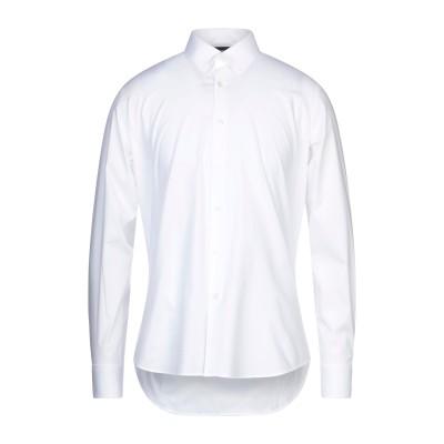 ジャストカヴァリ JUST CAVALLI シャツ ホワイト 40 コットン 96% / ポリウレタン 4% シャツ