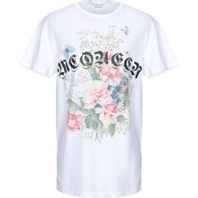 アレキサンダー マックイーン ALEXANDER MCQUEEN メンズ Tシャツ トップス t-shirt White