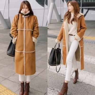 ムートンコート レディース フェイクムートンコート レディース アウター 大きいサイズ 韓国ファッション 冬 アウター レディース 人気