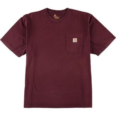 カーハート Carhartt ワンポイントロゴポケットTシャツ メンズXL /eaa155647