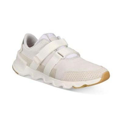 ソレル スニーカー シューズ レディース Kinetic Lite Strap Sneakers White