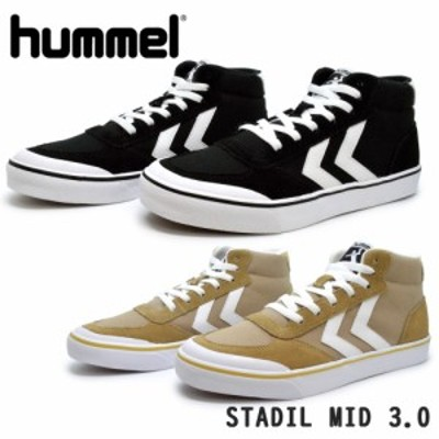 ヒュンメル スニーカー レディース メンズ STADIL MID 3.0 スタディール ミッド hummel HM208371 2001 8031 ミドルカット