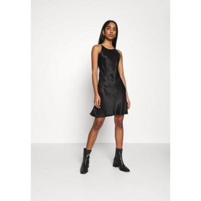 ウィークデイ ワンピース レディース トップス NOELLA STRAPPY DRESS - Day dress - black