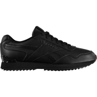 リーボック Reebok メンズ スニーカー シューズ・靴 Royal Glide Trainers Triple Black