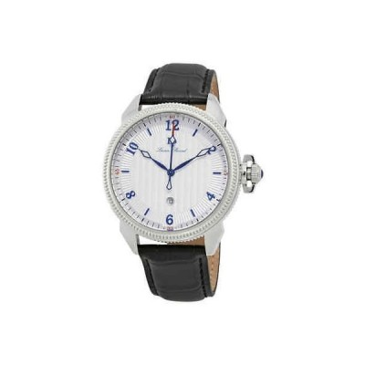 腕時計 ルシアン ピカール メンズ Lucien Piccard Trevi Silver Dial Men's Watch 40053-02S