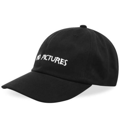 ナサシーズンズ NASASEASONS メンズ キャップ 帽子 No Pictures Cap Black