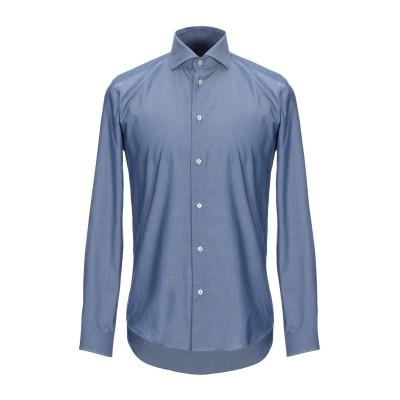 ブライアン デールズ BRIAN DALES シャツ ダークブルー 40 コットン 100% シャツ