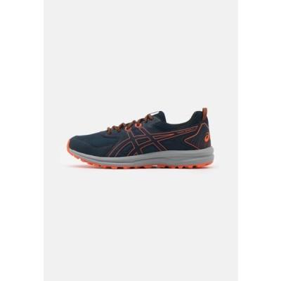 アシックス メンズ スポーツ用品 SCOUT - Trail running shoes - french blue/marigold orange