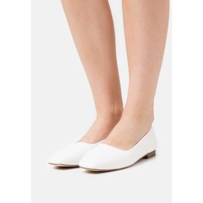 レイド パンプス レディース シューズ ELWOOD - Ballet pumps - white