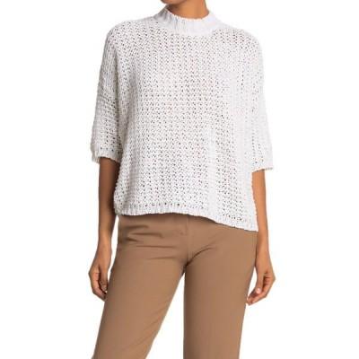 ブローシュウォーカー レディース ニット&セーター アウター Soleil Crew Neck Sweater SALT WHITE