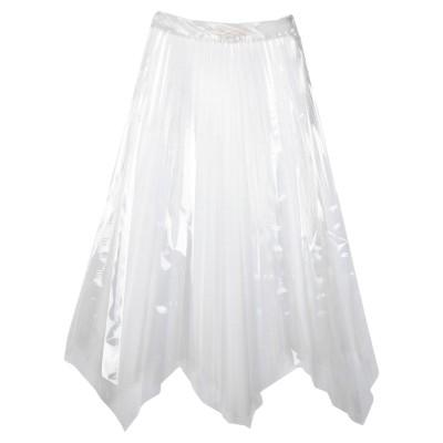 SSHEENA ロングスカート クリア 38 ポリウレタン 100% ロングスカート