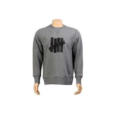 アクティブウェア トップス メンズ アンダーフィーテッド Undefeated Corporate Five Crewneck (heather grey) 5018115HEA