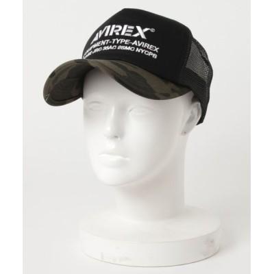 JUGLANS / AVIREX NUMBERING メッシュキャップ MEN 帽子 > キャップ