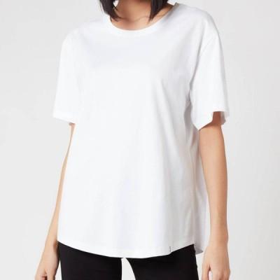 レスガールズレスボーイズ Les Girls Les Boys レディース Tシャツ トップス Single Jersey T-Shirt - White White