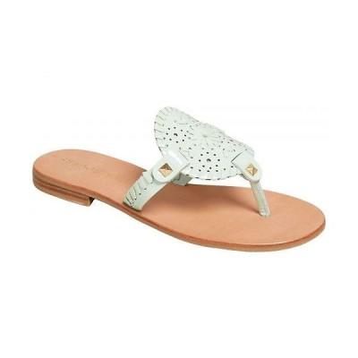 Jack Rogers ジャックロジャース レディース 女性用 シューズ 靴 サンダル Georgica Patent Sandal - Mint