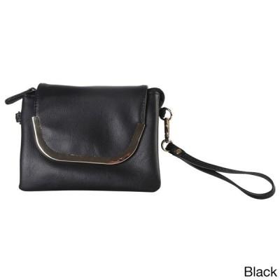ハンドバッグ 財布 ディオフィ Diophy Faux Leather Wristlet Clutch Handbag