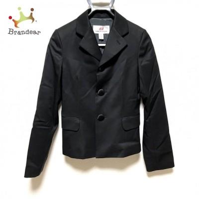 エイチアンドエム×コムデギャルソン ジャケット サイズ34 S レディース 美品 - 黒 長袖/春/秋  値下げ 20210607