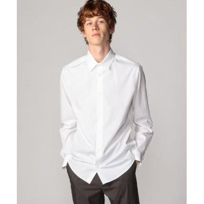 TOMORROWLAND/トゥモローランド コットン レギュラーカラーシャツ THOMAS MASON 11 ホワイト M
