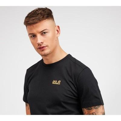 ジャックウルフスキン Jack Wolfskin メンズ Tシャツ トップス essential t-shirt Black
