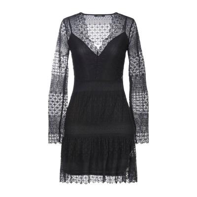 ゲス GUESS ミニワンピース&ドレス ブラック M ナイロン 91% / ポリウレタン 9% ミニワンピース&ドレス