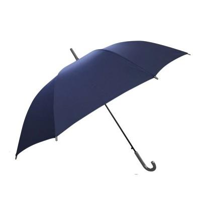 傘 約60cm ネイビー 紳士傘 ジャンプ傘 ( 雨傘 長傘 アンブレラ )