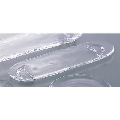 日本製  宵 長皿   小   ガラス 皿  15278   40363