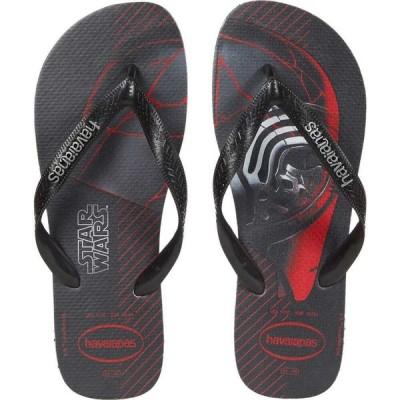 ハワイアナス Havaianas メンズ ビーチサンダル シューズ・靴 Star Wars Flip-Flops Black/White/Black