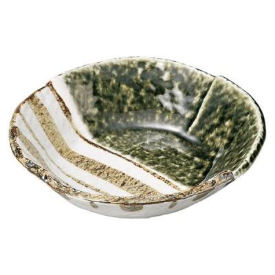 業務用食器 織部ストライプ 6.5丸鉢 φ19×4.5�