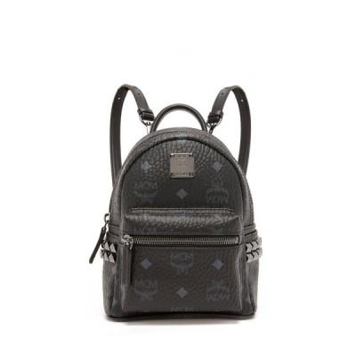 エムシーエム MCM レディース バックパック・リュック バッグ Side Stud Baby Stark Backpack Black