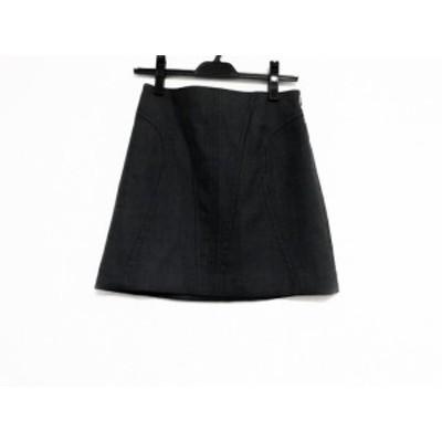 ボディドレッシングデラックス BODY DRESSING Deluxe ミニスカート サイズ34 S レディース 美品 ダークグレー【中古】