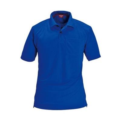 バートル(BURTLE) 半袖ポロシャツ メンズ ワークウエア 105 ロイヤルブルー 3L 作業服 現場 仕事着 作業着