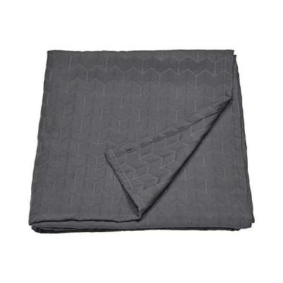 IKEA/イケア KOLAX:ベッドカバー150×250cm グレー(404.549.56)