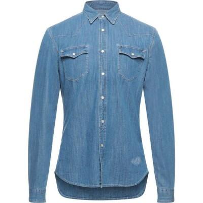 ハイドロゲン HYDROGEN メンズ シャツ デニム トップス Denim Shirt Blue