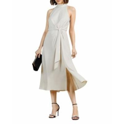 テッドベーカー レディース ワンピース トップス Halter Occasion Midi Dress Natural