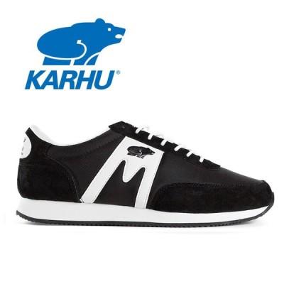 カルフ KARHU アルバトロス ウォーキングシューズ メンズ レディース 定番 スニーカー ランニングシューズ KH802519 ブラック ホワイト ALBATROSS