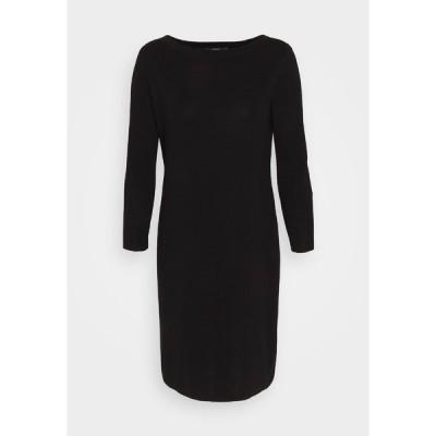 エスプリ ワンピース レディース トップス DRESS MERC - Jumper dress - black