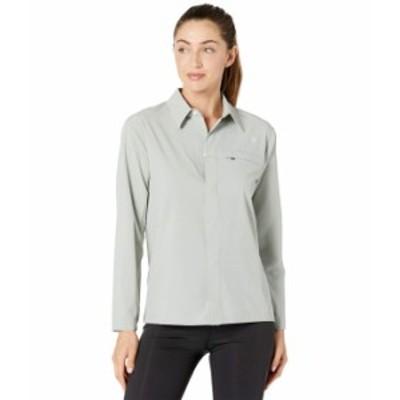 ノースフェイス レディース シャツ トップス First Trail UPF Long Sleeve Shirt Wrought Iron