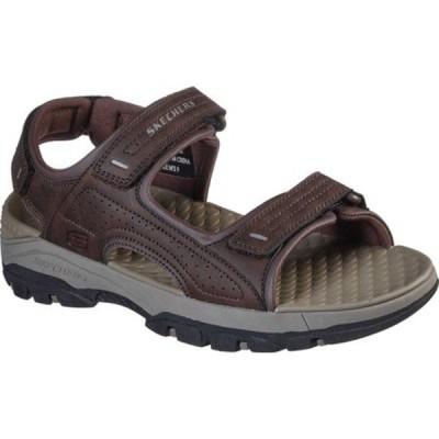 スケッチャーズ サンダル シューズ メンズ Relaxed Fit Tresmen Garo Sport Sandal (Men's) Chocolate