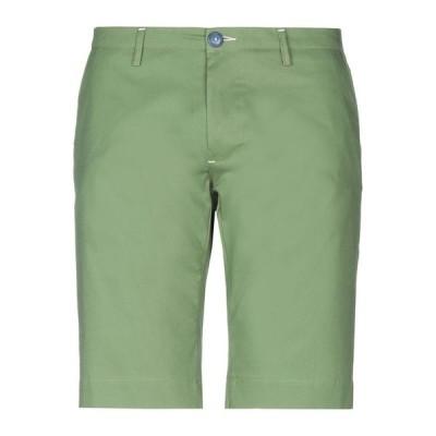 NEILL KATTER ショートパンツ&バミューダパンツ ファッション  メンズファッション  ボトムス、パンツ  ショート、ハーフパンツ グリーン