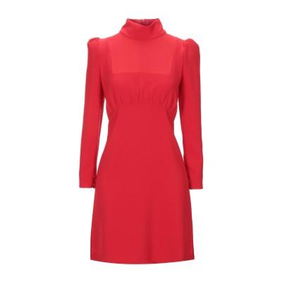 COMPAGNIA ITALIANA ミニワンピース&ドレス レッド 46 ポリエステル 91% / ポリウレタン 9% ミニワンピース&ドレス