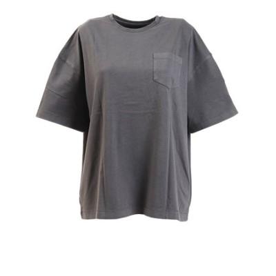エルケクス(ELKEX)Tシャツ レディース 半袖 G/DYE WIDE BP 882EK0UK3234DGRY