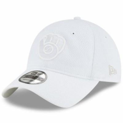 New Era ニュー エラ スポーツ用品  New Era Milwaukee Brewers White 2019 Players Weekend 9TWENTY Adjustable Hat