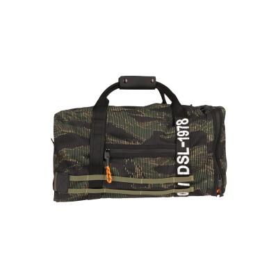 ディーゼル DIESEL 旅行バッグ ミリタリーグリーン コットン 65% / ポリウレタン 35% / 亜鉛 旅行バッグ