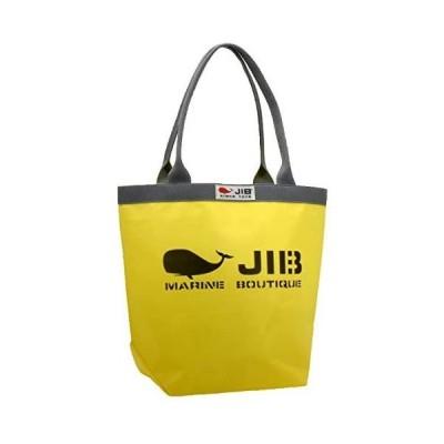 ジブ(JIB) バケツトートバッグ M BKM38(持ち手グレー) (イエロー/グレー M)