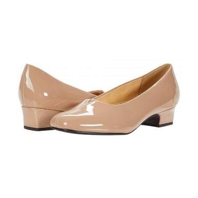 Trotters トロッターズ レディース 女性用 シューズ 靴 ヒール Doris - Nude Patent