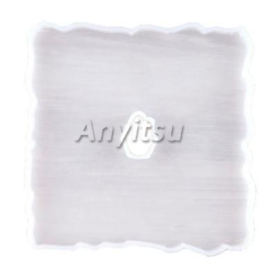 シリコーン型コースタージュエリーペンダントツール樹脂鋳造型12.5x12.5CM