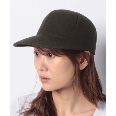 【シスレー】 ウールキャップ・帽子 レディース ブラウン S SISLEY