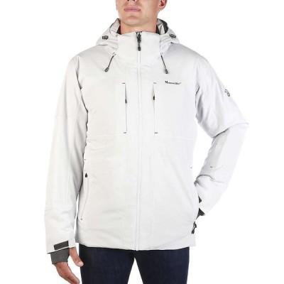 ムースジョー Moosejaw メンズ ジャケット アウター Mt. Elliott Insulated Waterproof Jacket Pebble