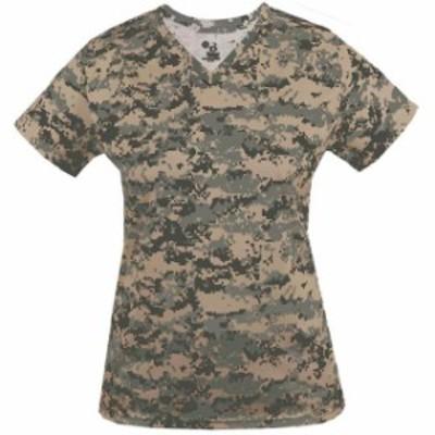 スポーツ用品 ベースボール Badger Womens Digital V-Neck Shirt