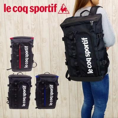 ルコック バッグ リュック 大容量 le coq sportif バックパック ラシェーズ メンズ/レディース ブラック/レッド/ブルー 27L 36745 リュックサック